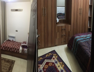 واحد دوخوابه مبله در اصفهان ، خیابان رودکی کد 21